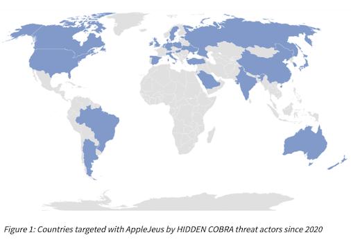 通称:AppleJeus 北朝鮮による暗号通貨を狙うマルウェアの分析 警告(AA21-048A)